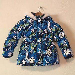 Girls Gymboree Winter Jacket Size 5/6